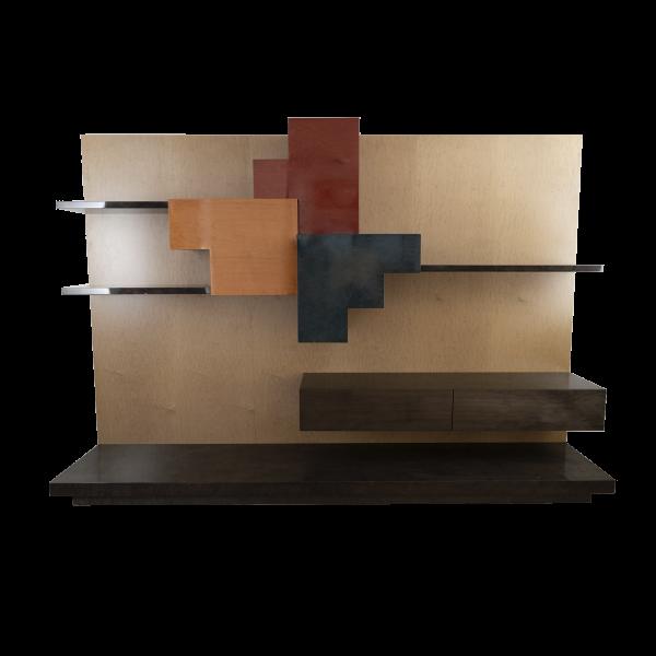 Tower & Plus Bookcase and wall cabinet by Giorgio Saporiti