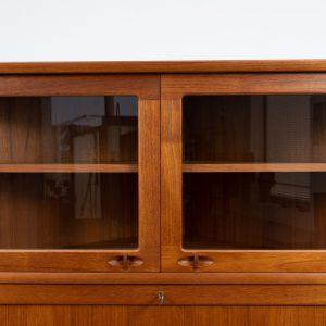 Danish corner cabinet by H.W. Klein