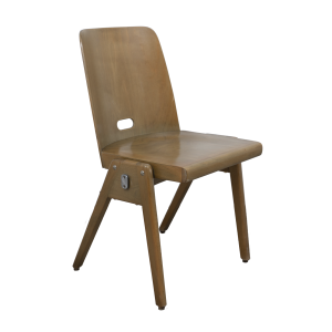 40x Wooden chair by Bombenstabil