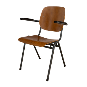 30x Stackable Industrial chair with armrests